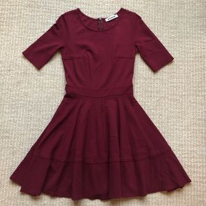 ModCloth Mystic Fit and Flare Dress